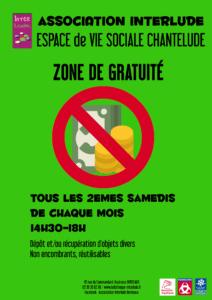 Zone de gratuité @ EVS Chantelude