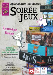 Soirée-jeux et initiation aux jeux de rôles @ Ludothèque Bastide
