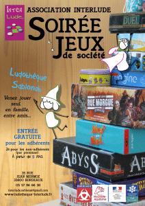 Soirée-jeux : nouvelle formule @ Ludothèque Sablonat