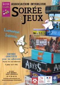 Soirée-jeux @ Ludothèque Sablonat