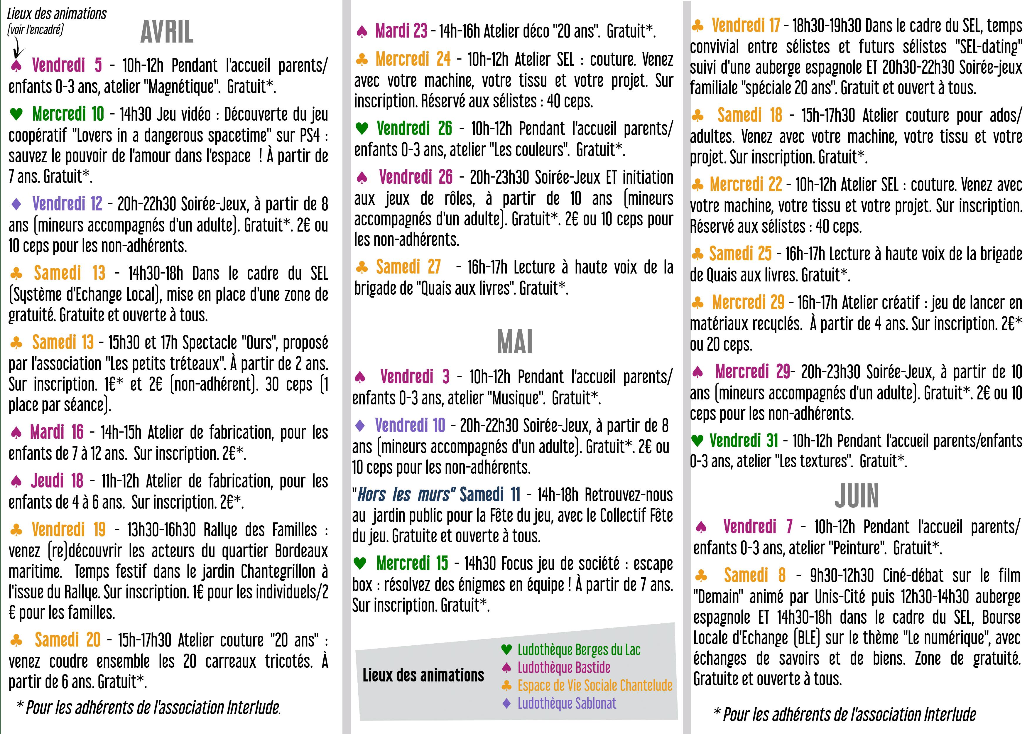 Agenda trimestriel avrilmaijuin2019recto