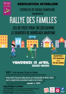 Rallye des Familles @ EVS Chantelude