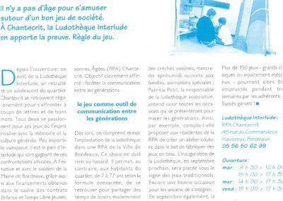 A vous de jouer ! Journal municipal de Bordeaux Juin 1999